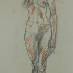 figure drawing by Mayko Fry