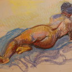 minute figure drawing by Mayko Fry