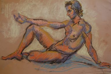 figure drawing Mayko Fry