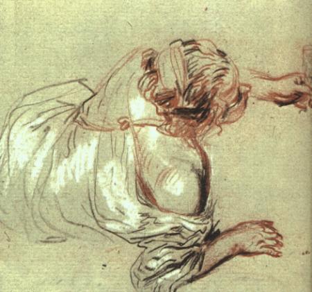 Watteau Life drawing 2