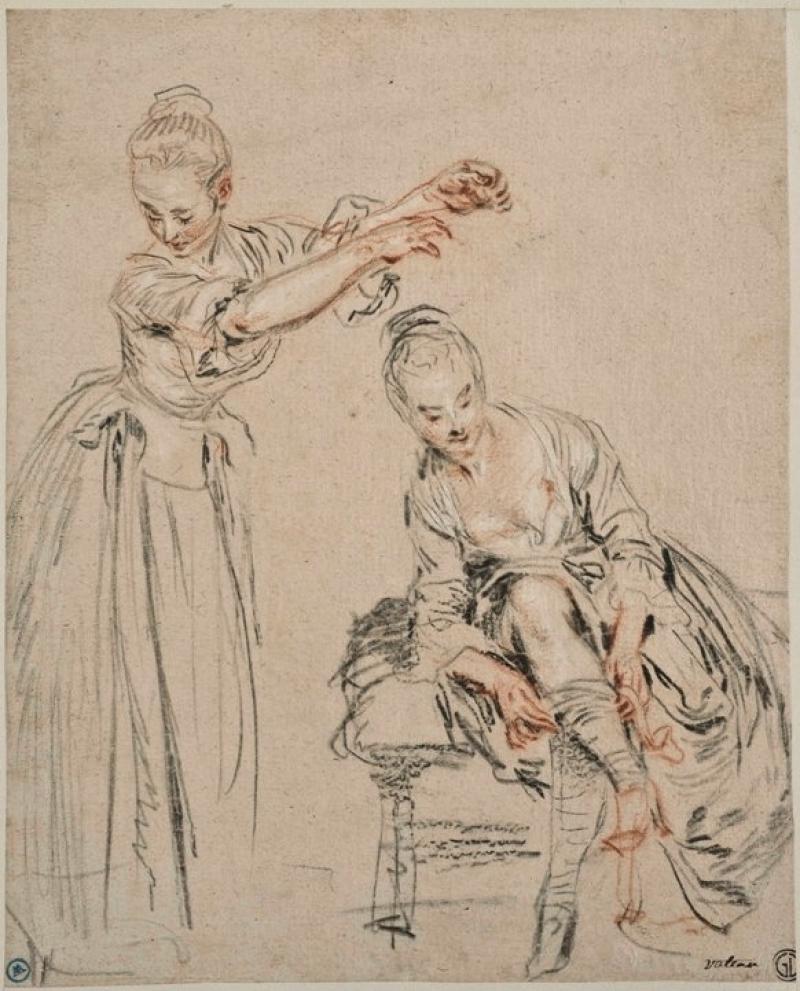 Watteau life drawing