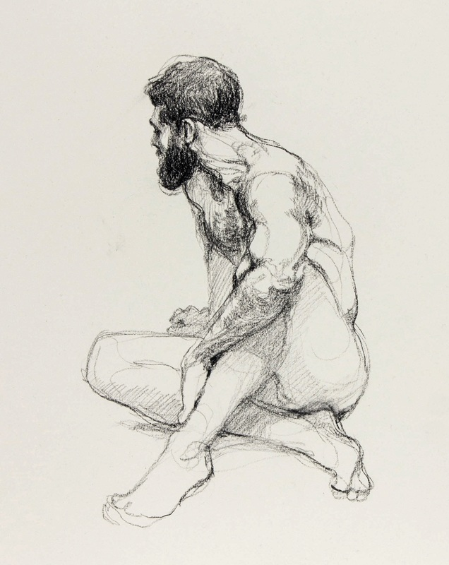 Jake Spicer figure drawing