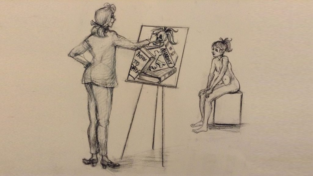 Overview of our free beginner course | Love life drawing