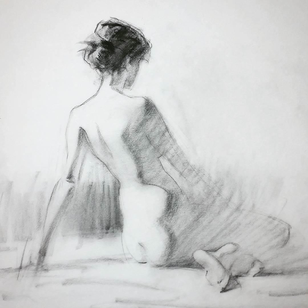 Lane Brown figure drawing: composition & anatomy | Love life
