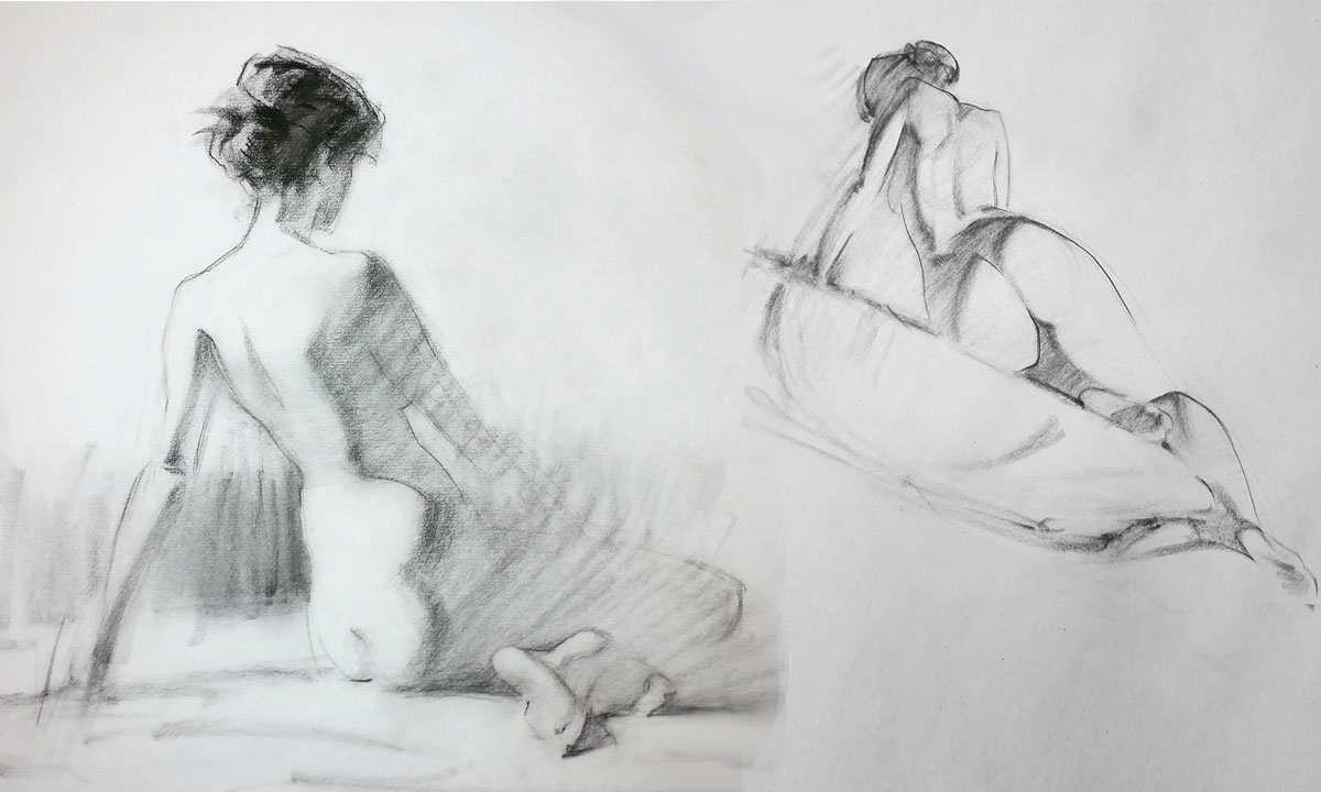 Lane Brown figure drawing: composition & anatomy | Love life
