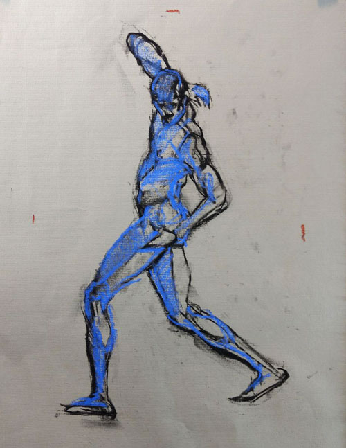 Beginner Gesture Drawing 3 - Keeping the Energy in Longer