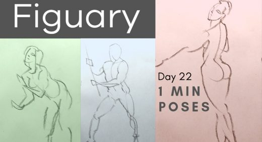Figuary - Figure Drawing Month | Love life drawing